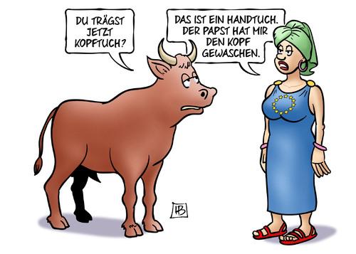 Karikatur von Harm Bengen